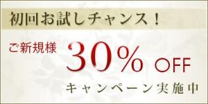 img420 campain30 300x150 ご新規様30%OFFキャンペーン中!