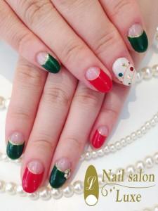 IMG13 225x300 クリスマスカラー☆フレンチ